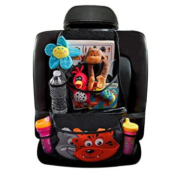 griffin baby back seat car organizer built in cooler back of seat organizer