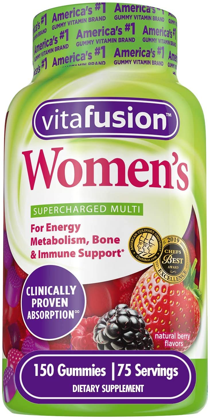 Vitafusion-Best Multivitamins for Women