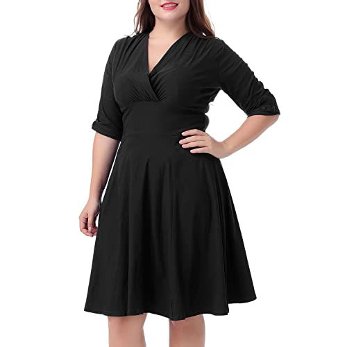 Plus Size 1950s Vintage Dresses Amazon