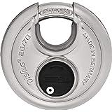 Abus 20/70 KA Diskus Padlock, Extreme High Security Disk Lock, Keyed Alike (KA)