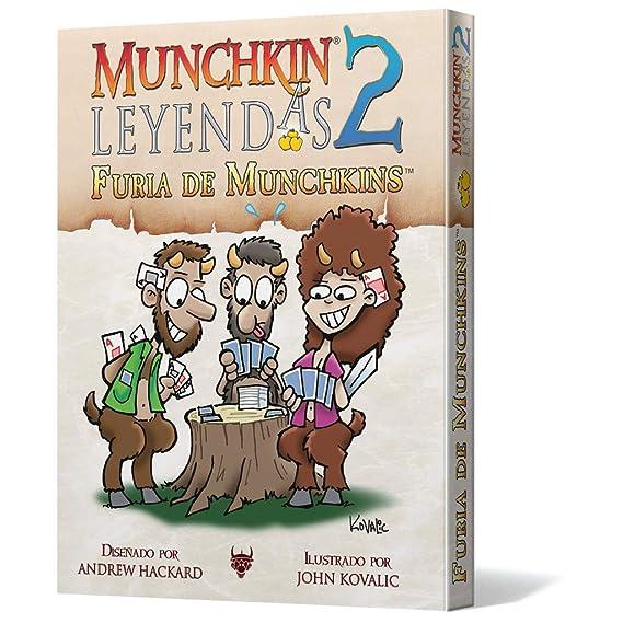 Edge Entertainment- Leyendas 2: Furia de Munchkins (EESJML02 ...