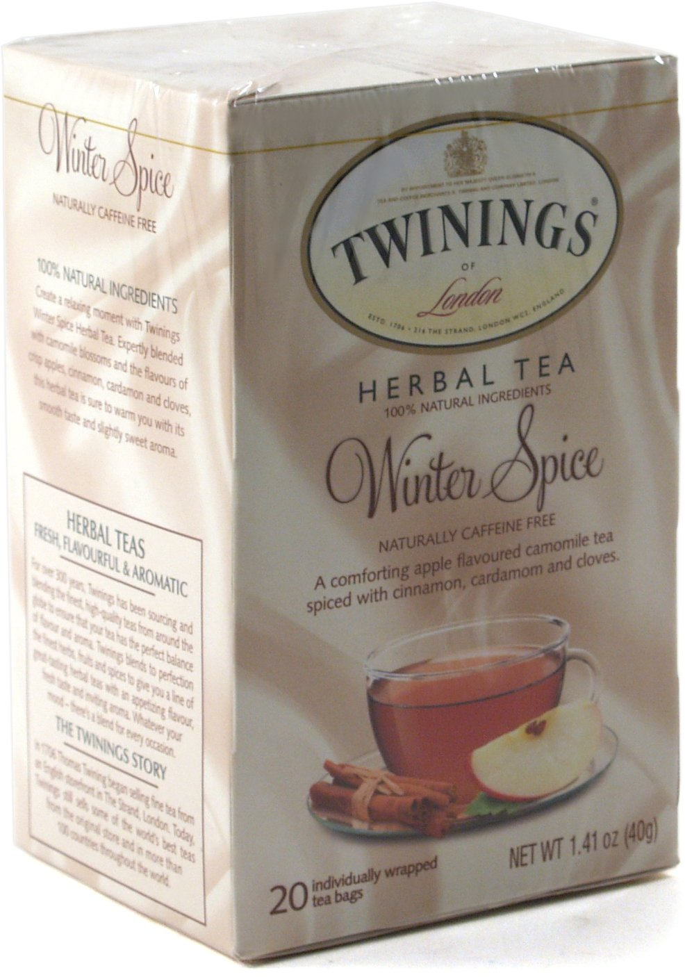 Twining Tea Tea Winter Spice 20 Bags (2 Pack)
