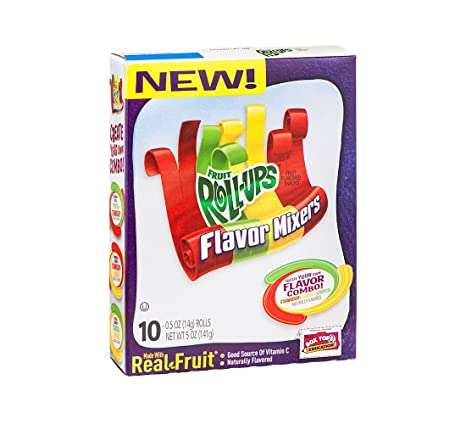 Betty Crocker Fruit Roll-UPS Sabor mezcladoras Fruit ...