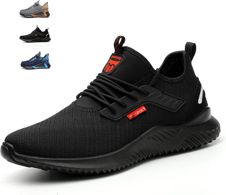 ulogu Steel Toe Sneakers for Men Women
