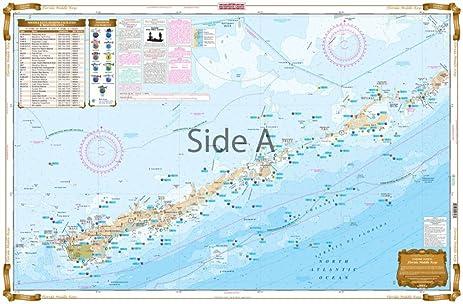 Amazon com waterproof charts 34f florida fishing charts and