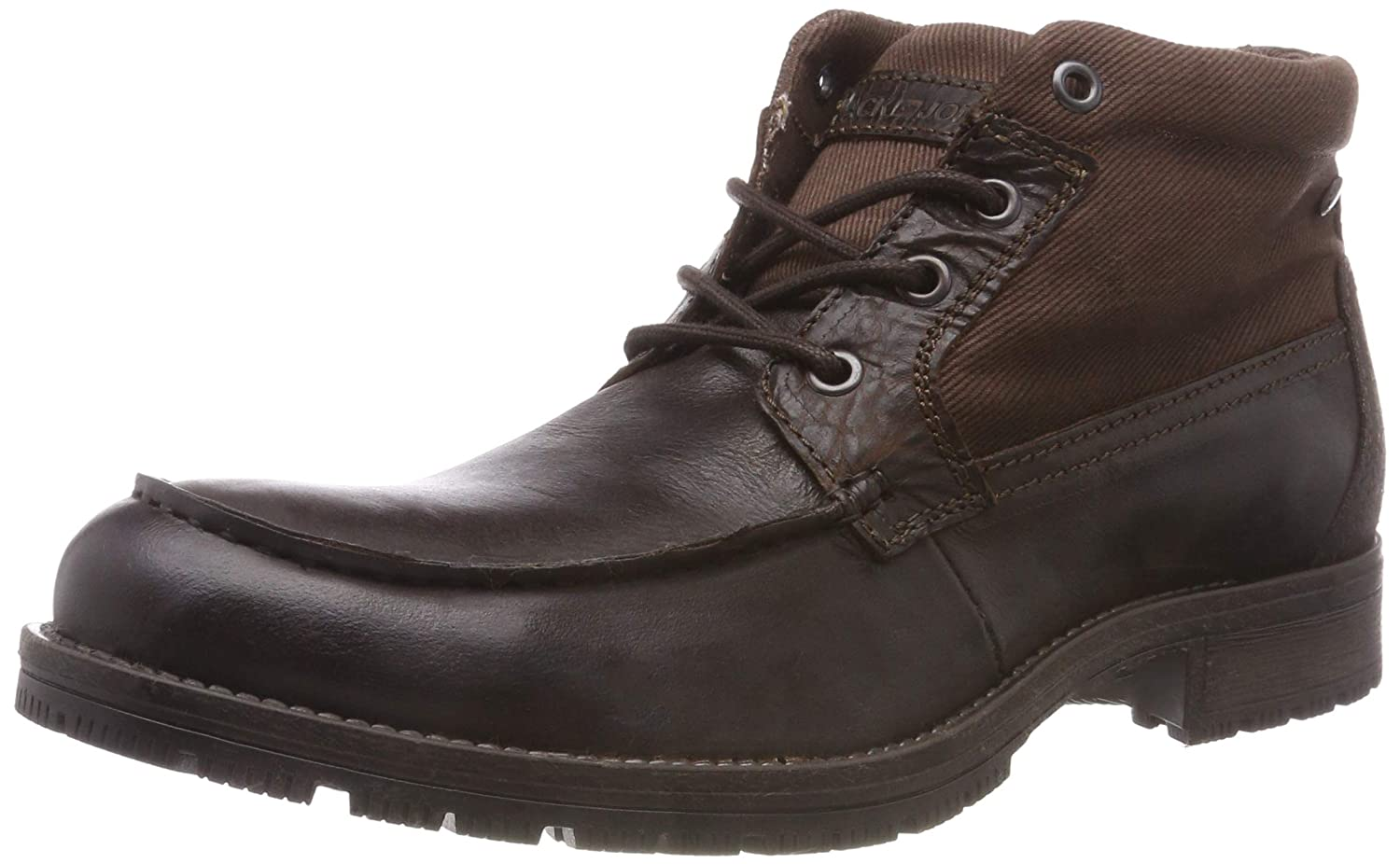Jack & Jones Jfwforest Mid Brown Stone, Botas Militar para Hombre