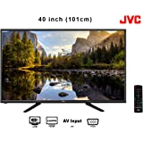 JVC 1080p Display Resolution 1920 x 1080 Full HD LED TV, 2xHDMI with 2 USB Enabled, 40 Inch, 101cm (Black, 40N575C-V S)