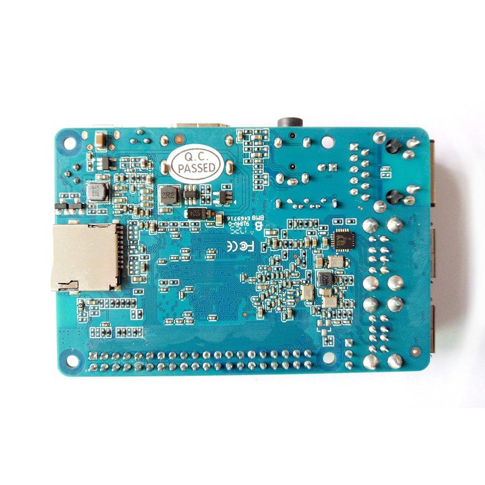 Banana Pi BPI M2 Berry Dual core Mali 400 MP2 GPU 1G LPDDR3 Open-source Development Board , Same Size as Raspberry Pi 3 by SmartFly Info (Image #4)