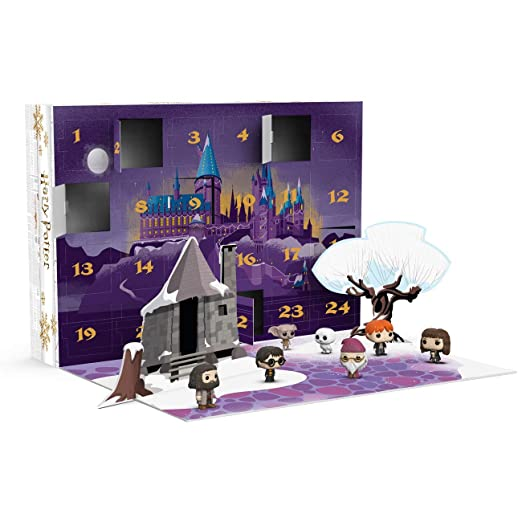 Funko- Pop Advent Calendar Potter-24 Piece Harry Potter Figura Coleccionable, Multicolor (34947)