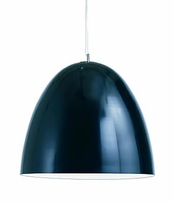 Large Dome Pendant Lamp (Black)