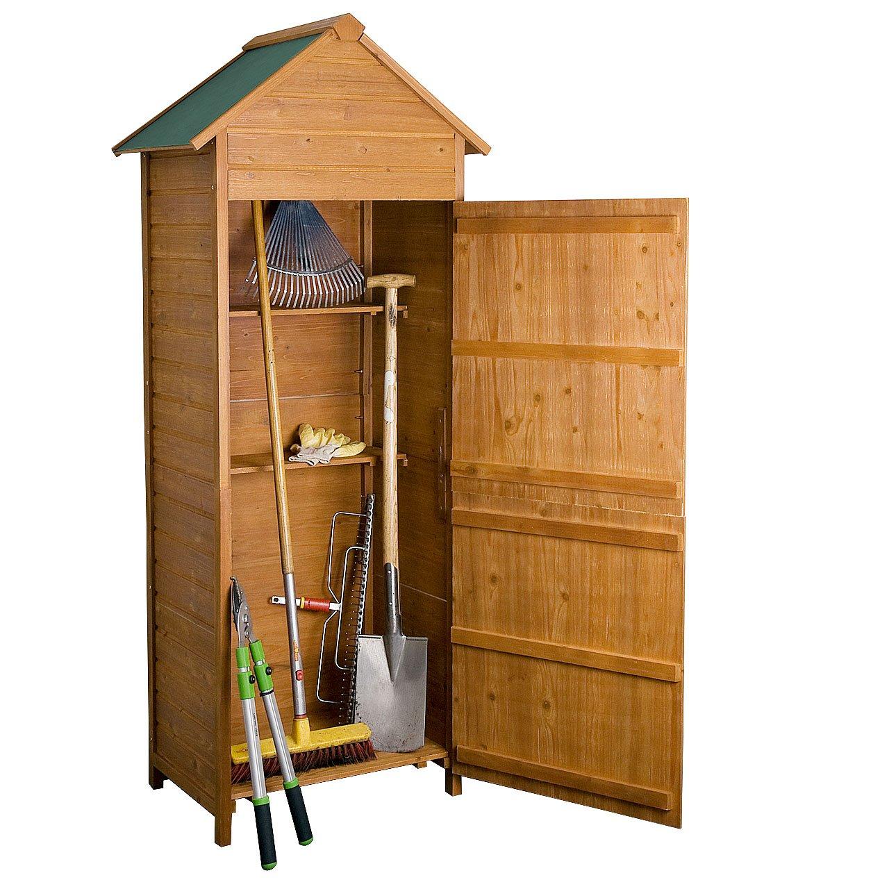Rotfuchs® Geräteschuppen Gerätehaus Geräteschrank Holz GTS01