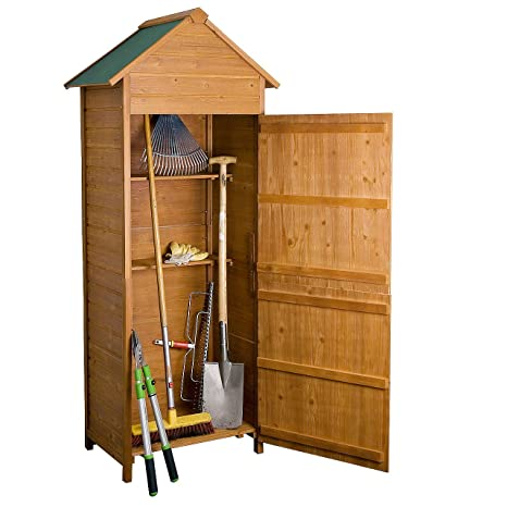 Rotfuchs® DISPOSITIVO Cobertizo Cobertizo dispositivo Armario madera gts01