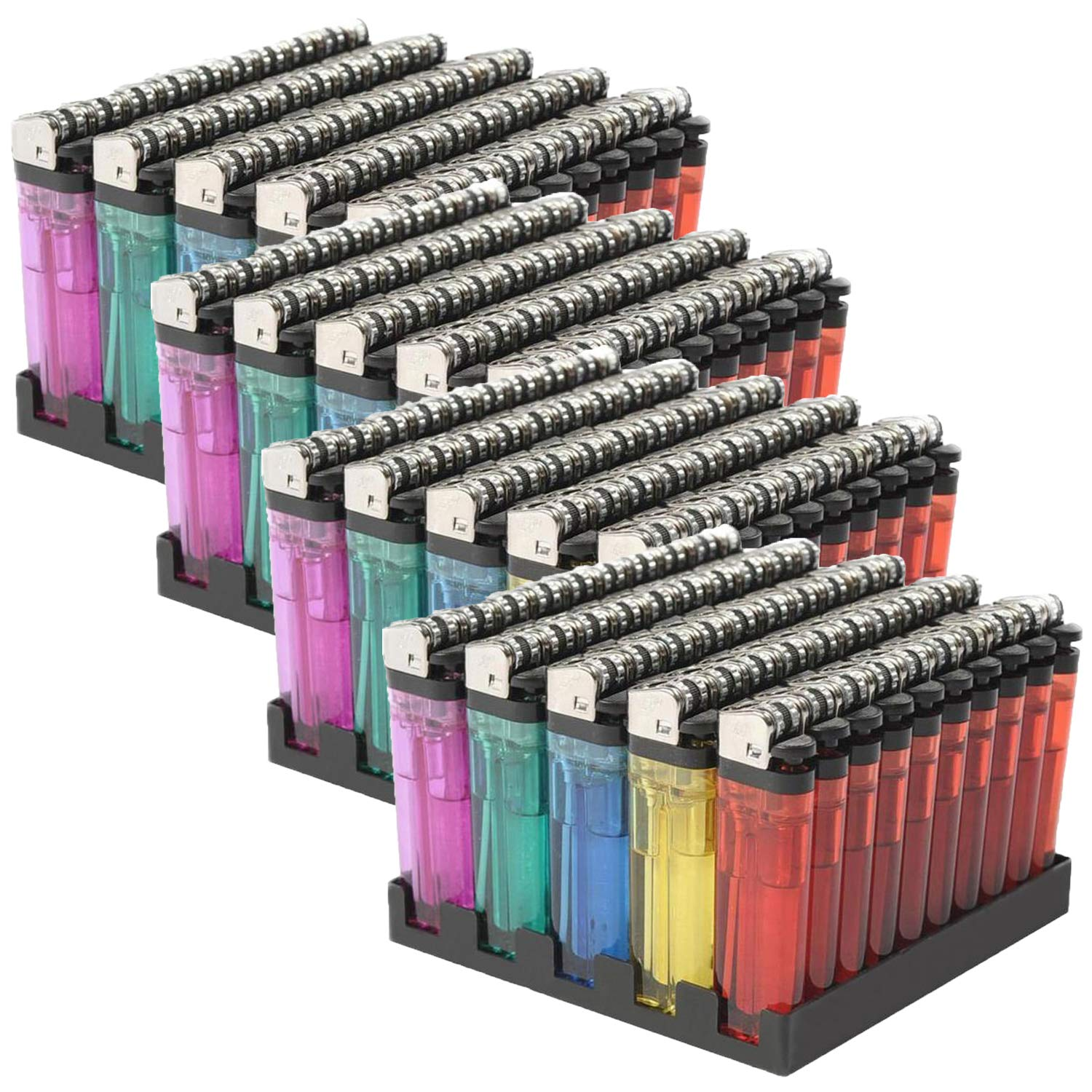 Wholesale Lot Classic Disposable Lighter, 200 Lot