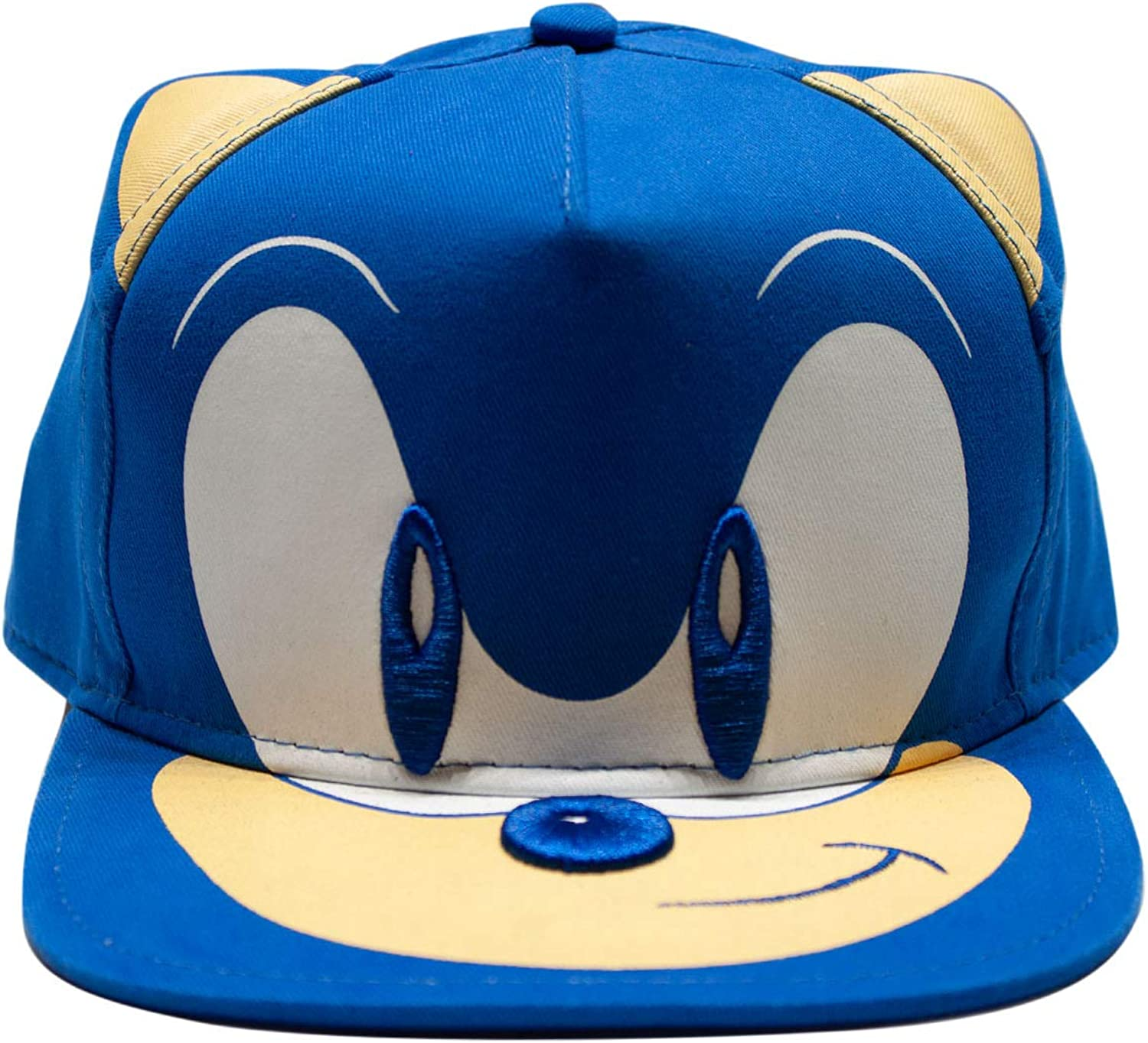 Amazon Com Sega Sonic The Hedgehog Baseball Hat Featuring Sonic Tails And Knuckles Official Curved Brim Adjustable Cap Royal One Size Clothing