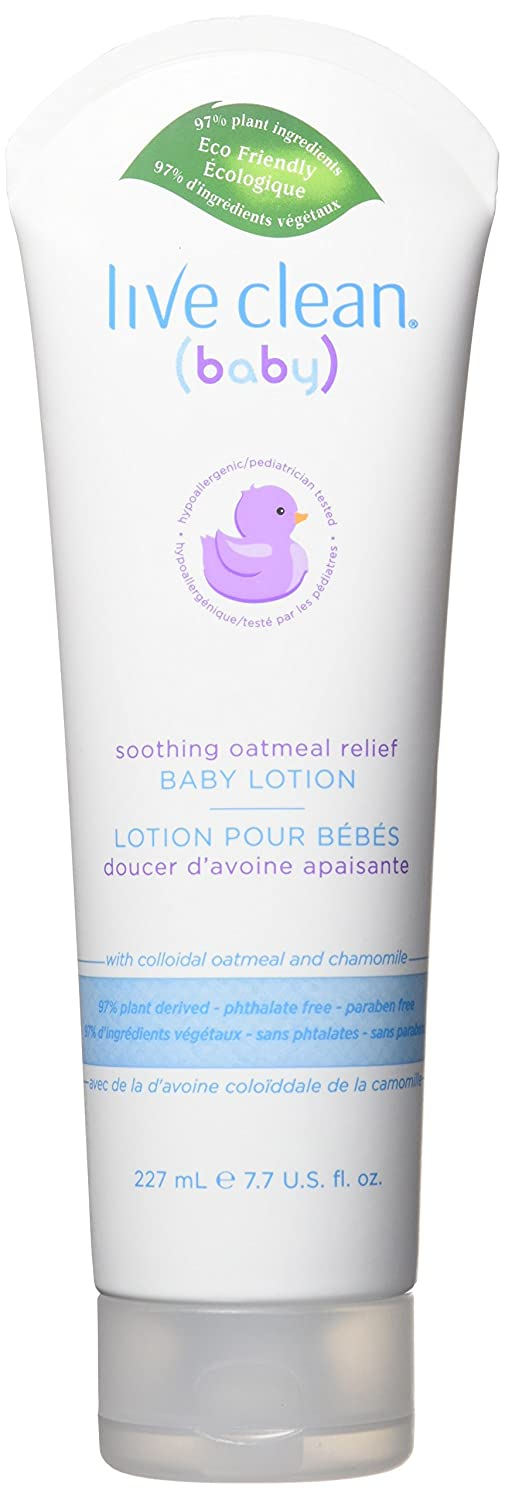 Live Clean Baby Soothing Relief Lotion 227 ml
