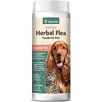"NaturVet €"" Herbal Flea Plus Essential Oils €"" Essential Oils Help to Repel Fleas €"" Deodorizes With a Fresh Herbal Fragrance €"" For Dogs & Cats €"" 4 oz Powder"