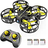 SNAPTAIN H823H Portable Mini Drone for Kids, RC Pocket Quadcopter with Altitude Hold, Headless Mode, 3D Flip, Speed…