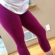 Amazon.com: Yogalicious High Waist Squat Proof Yoga Capri