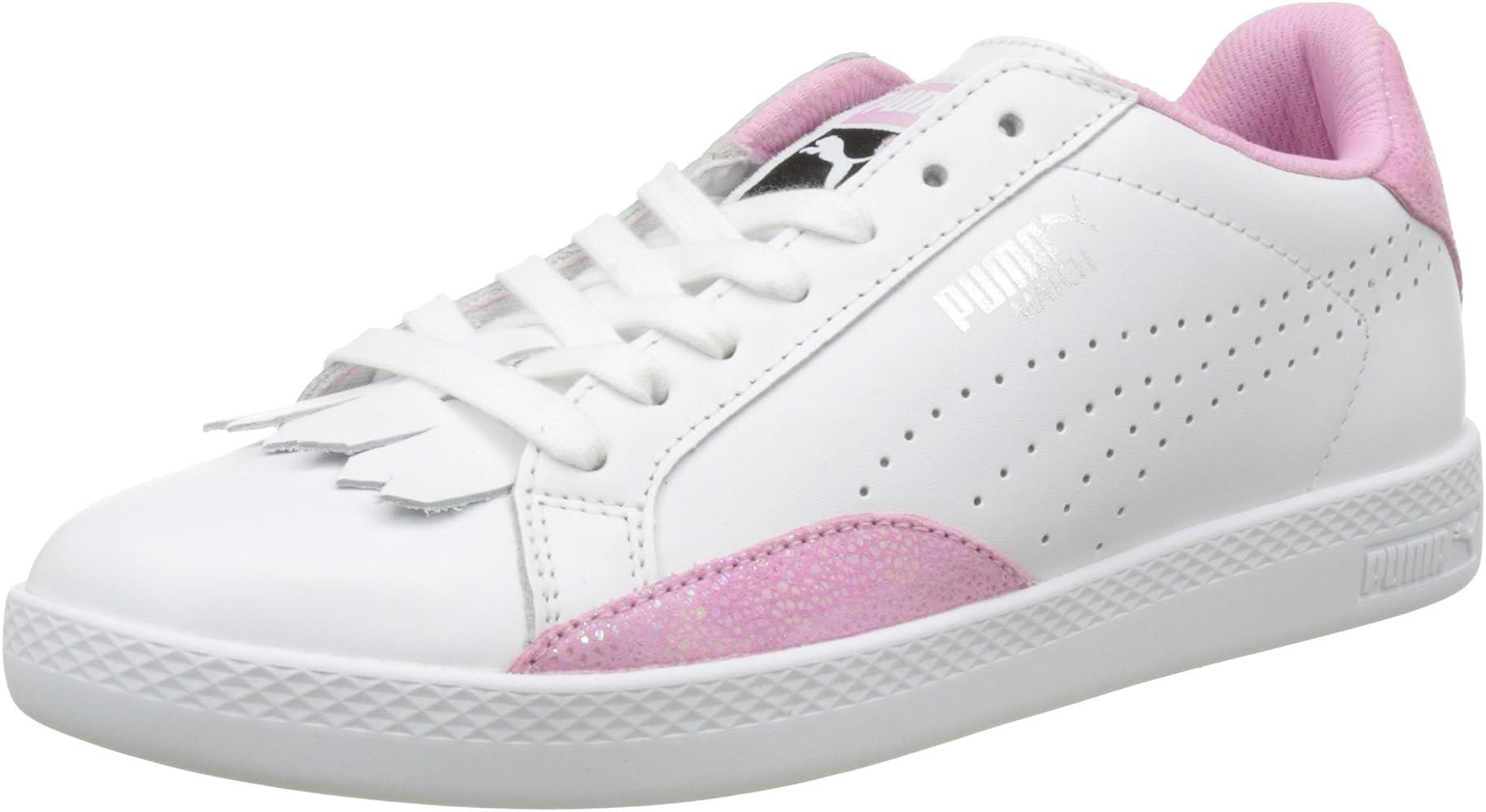 2017 Adulte Basket mode Sneakers PUMA Vikky Plat Blanc Blanc