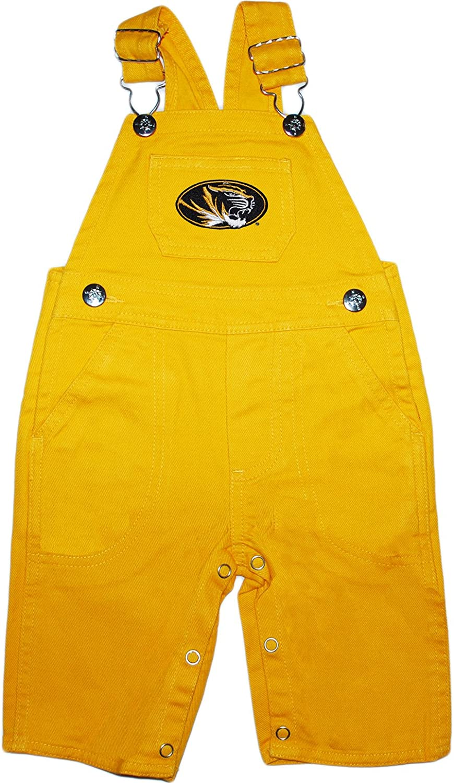 University of Missouri Tigers Baby Overalls