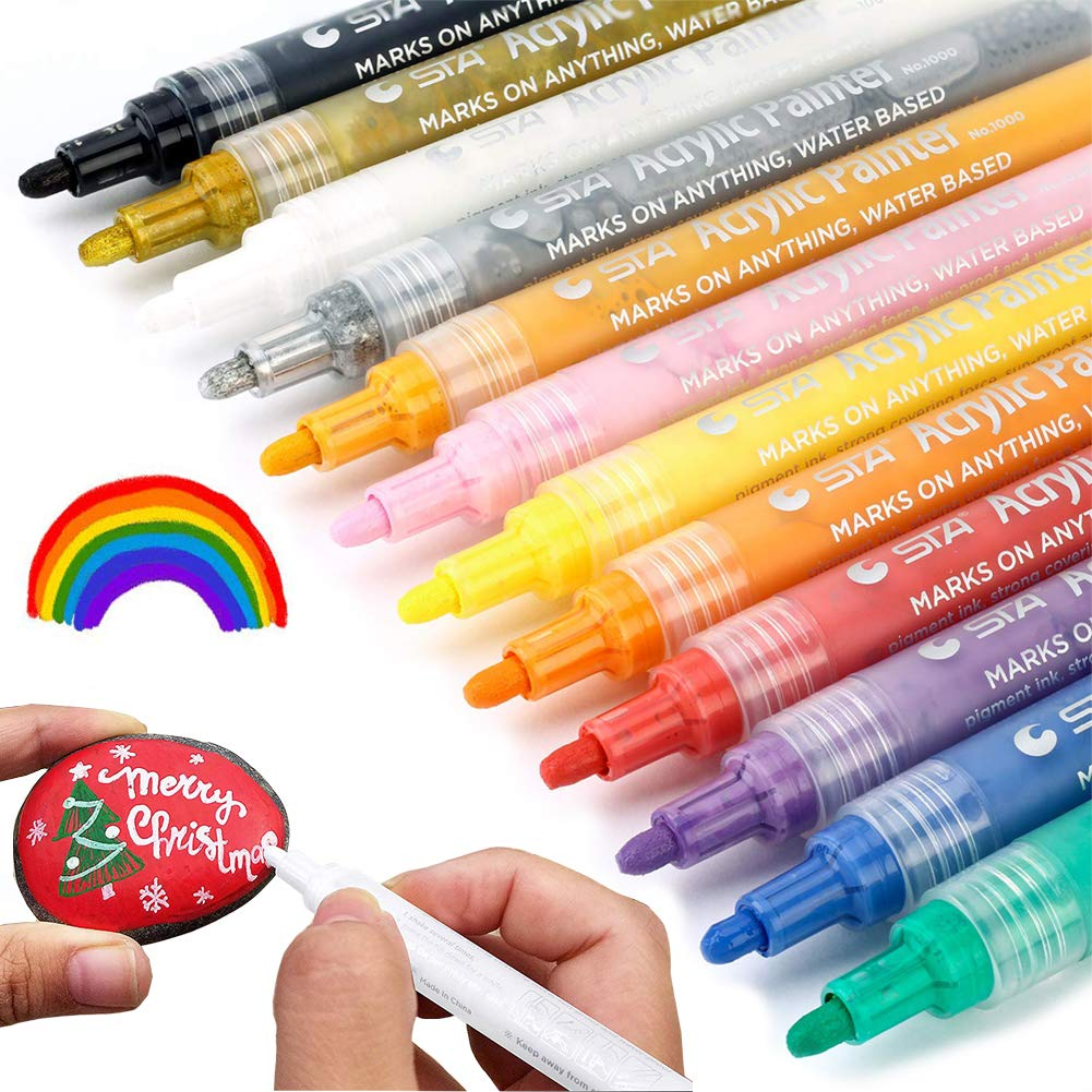 Amazon.com: Arte de marcadores de pintura juego de ...