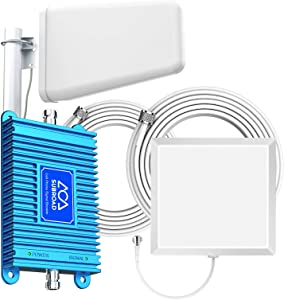 Verizon Cell Phone Signal Booster for Home Boost 4G LTE Enhances Your Cellular Voice and Data Support Verizon 700MHz Band 13 Cell Amplifier Signal Booster with Antenna Kit Coverage Up to 5,000 Sq. Ft
