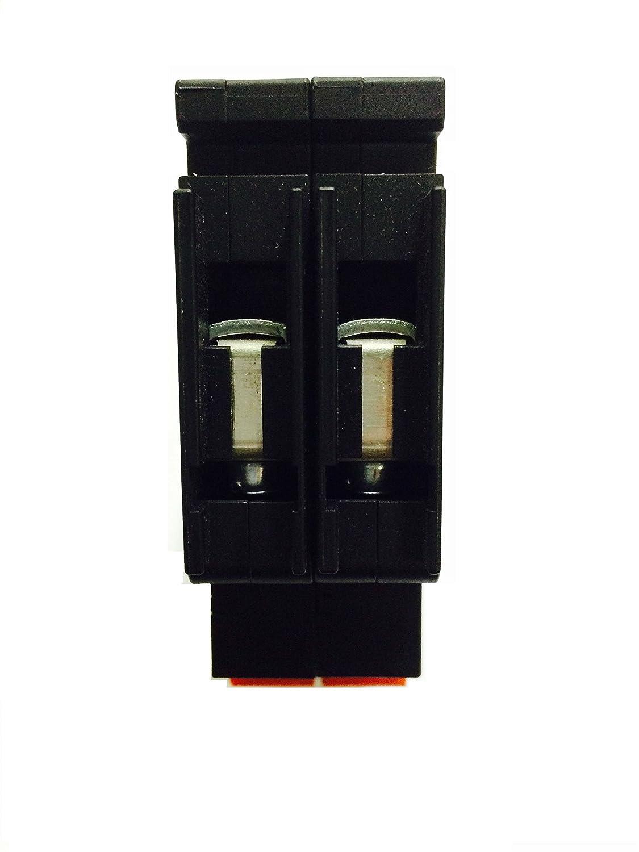 SHAMROCK CONTROLS QL28925 QL Series Circuit Breaker AC Voltage UL489 Listed Curve 9 25 amp 2 Pole