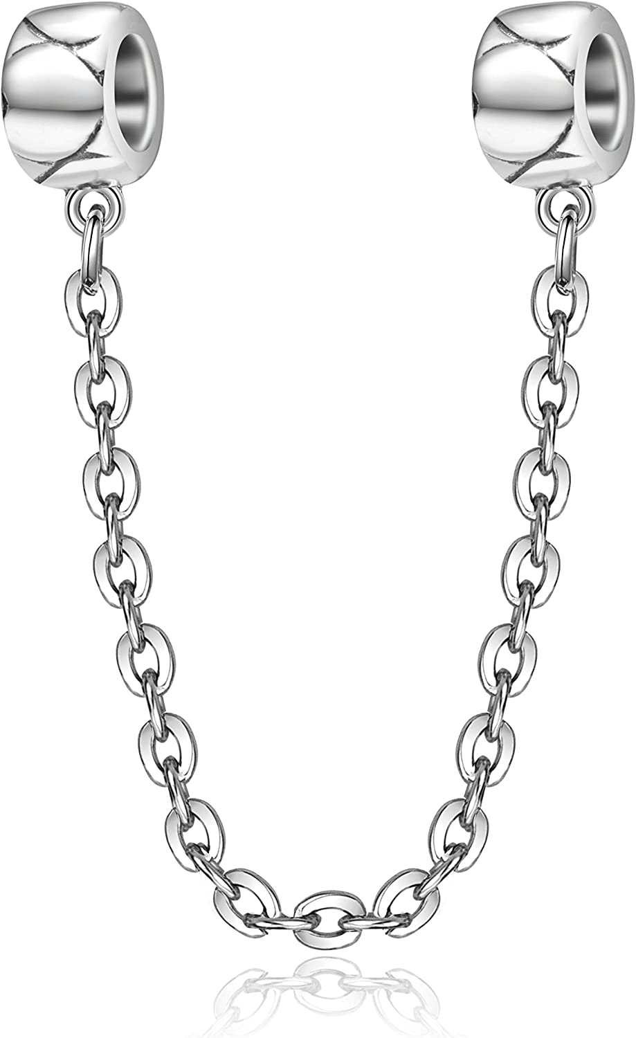 Spacer Stopper Clip for Charm Bracelet Authentic 925 Sterling Silver