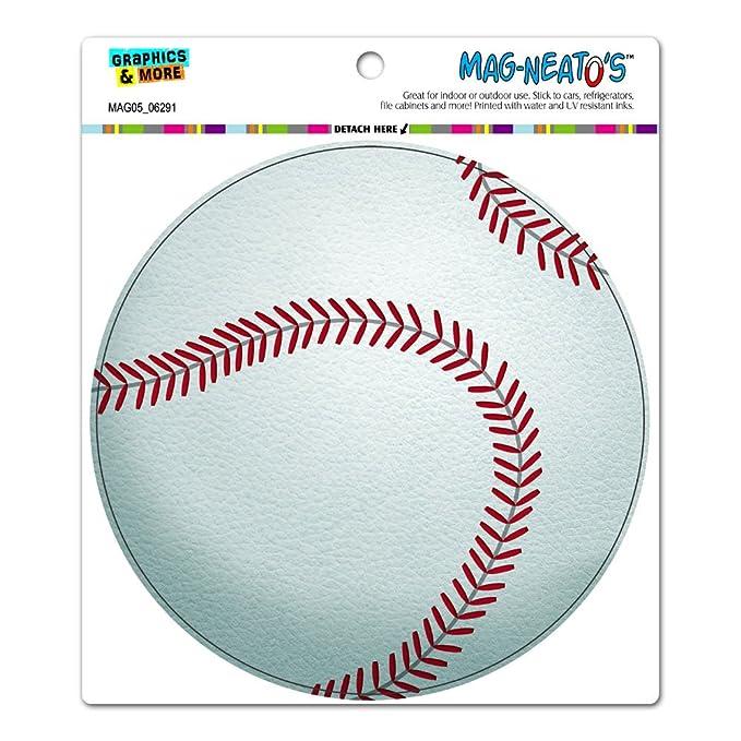 amazon com graphics and more baseball circle mag neato s tm