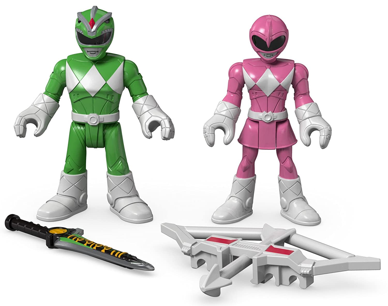 Fisher-Price Imaginext Power Rangers Green Ranger & Pink ...