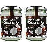 (Pack Of 2) - Raw Virgin Coconut Oil   OPTIMA HEALTH