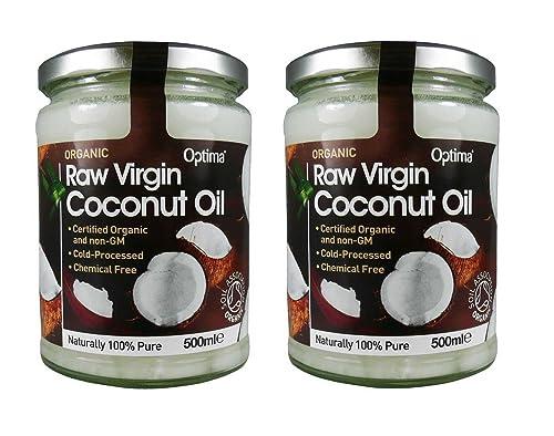 (Pack Of 2) - Raw Virgin Coconut Oil | OPTIMA HEALTH
