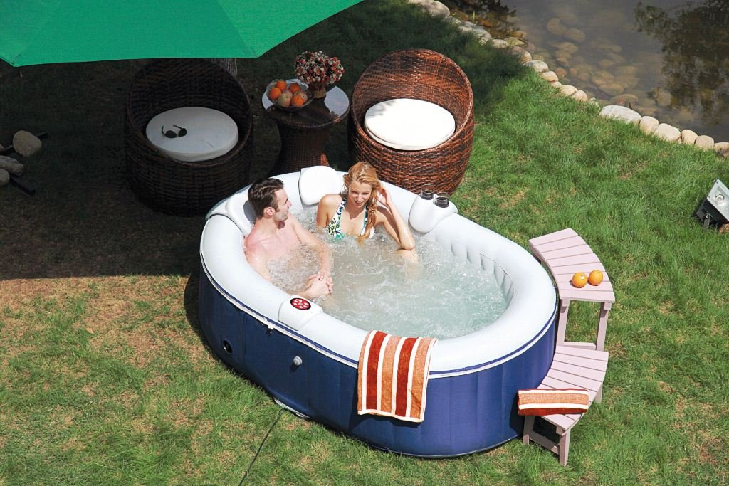 Awesome garten pool aufblasbar ideas new home design for Aufblasbarer gartenpool
