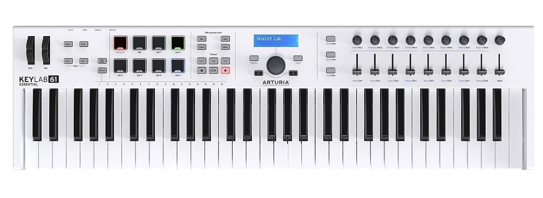 Arturia KeyLab 61 Essential   61 Key MIDI Controller Keyboard KEYLAB61ESS