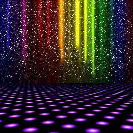 amazon com gladsbuy disco dancing pool 10 x 10 computer printed