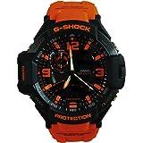 Casio G-Shock Gravitymaster Analogue/Digital Mens Black/Orange Watch GA1000-4A GA-1000-4ADR