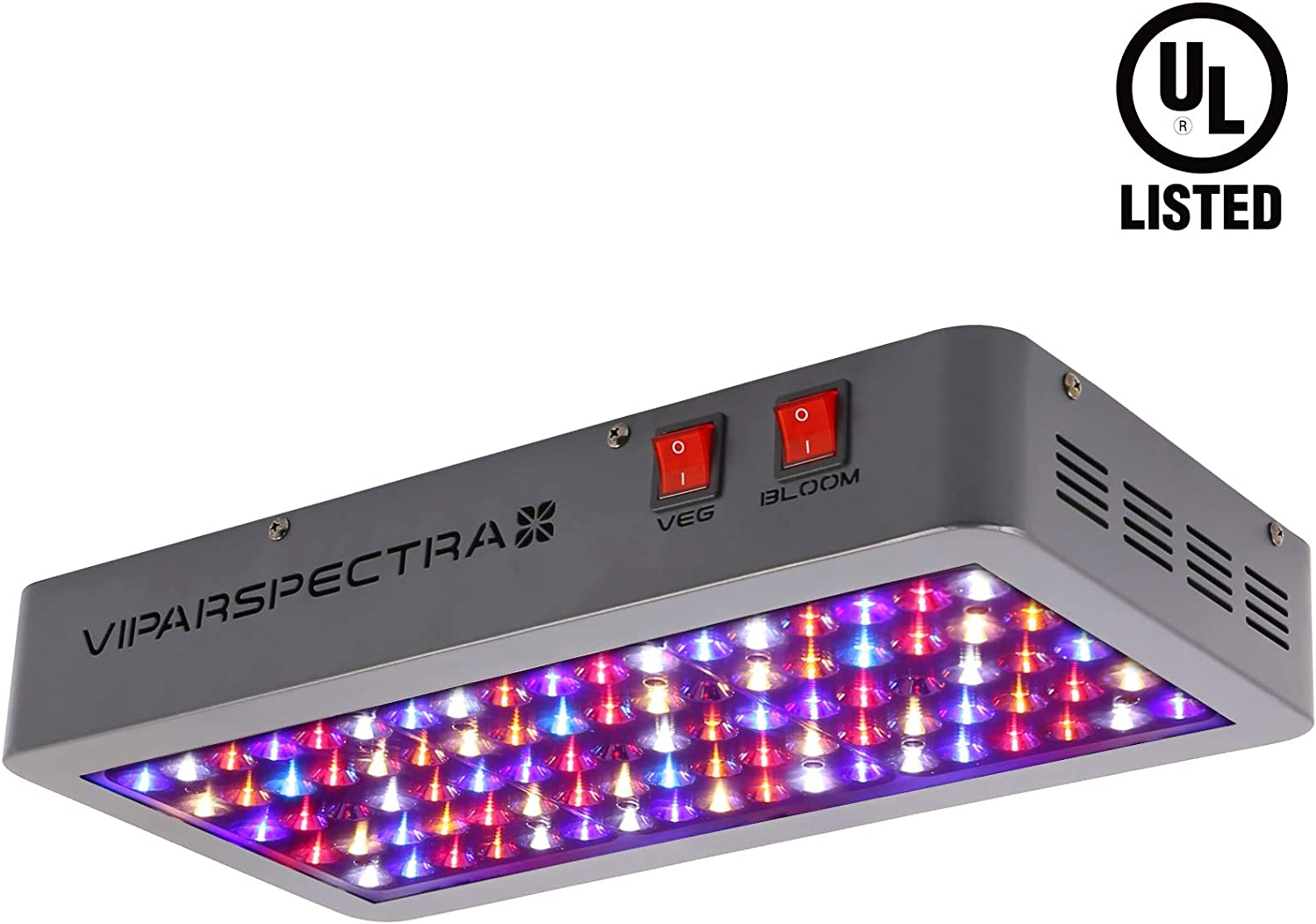 VIPARSPECTRA UL Certified Reflector-Series 450W LED Grow Light Full Spectrum for Indoor Plants Veg and Flower, Has Daisy Chain Function