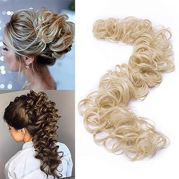 Tess Haarverlängerung Blond Ponytail Extension Diy Haargummi
