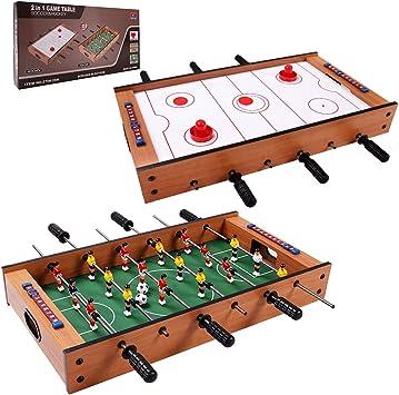 Giantex competencia de fútbol de mesa de futbolín para niños ...