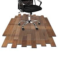 etm Bodenschutzmatten Hartboden | Extra Transparent und Rutschfest | optimales Gleitverhalten für Stuhlrollen | Größen mit und Ohne Lippe Wählbar