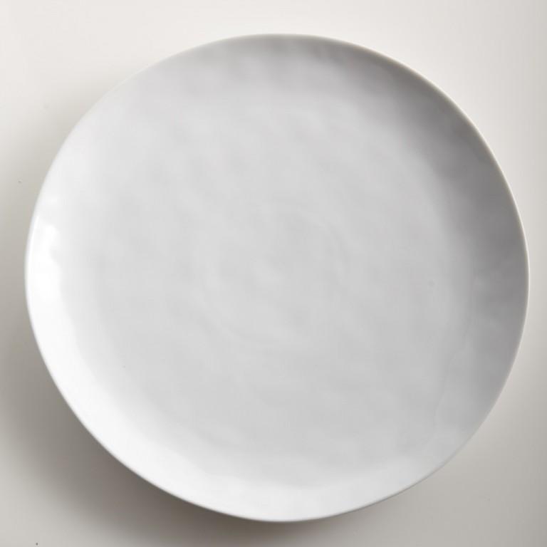 Sculptured Dishware - Dinner Plate (Set of 4) white