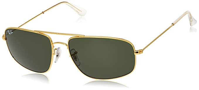a376f8ab5 Image Unavailable. Image not available for. Colour: Ray-Ban Rectangular  Men's Sunglasses ...
