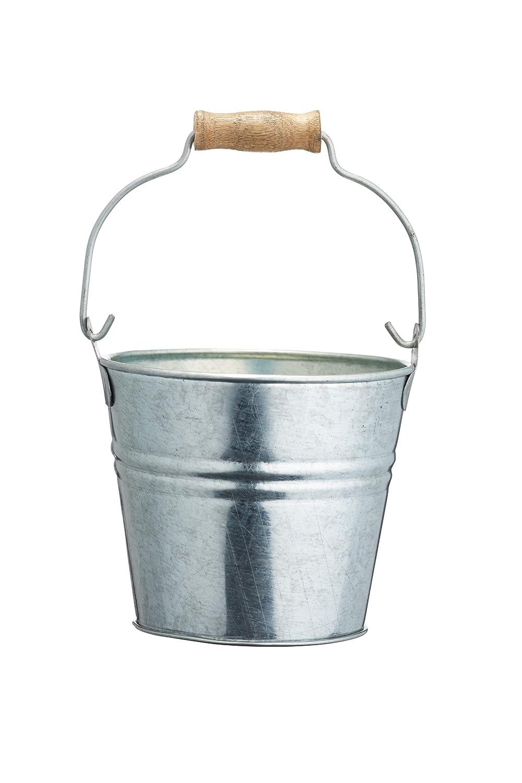 Artesà Pail-Style Mini Steel Chip Serving 'Basket', 11 x 11 x 9 cm (4.5