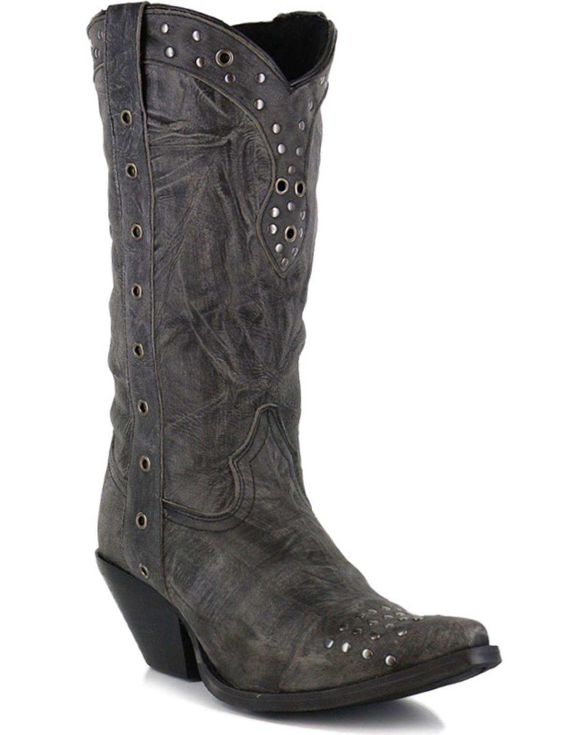 Durango Women's DRD0127 Western Boot, Charcoal, 8.5 M US