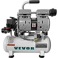 VEVOR Luftkompressor 2 gallon ultratyst oljefri luftkompressor 9 L tank tyst luftkompressor 550 W oljefri kompressor…