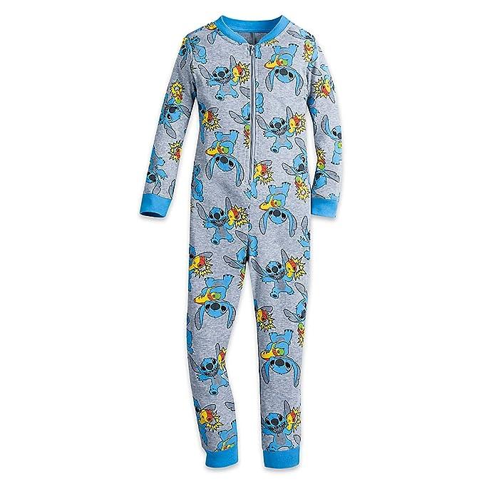7bfc06924 Amazon.com  Disney Stitch Stretchie Sleeper For Kids Size 4  Clothing