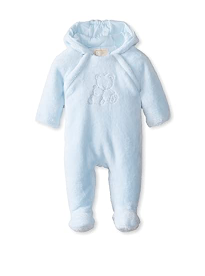 bde92be83 Emile et Rose Blue Jack Deep Pile Fleece Pramsuit 6 Months: Amazon.co.uk:  Clothing