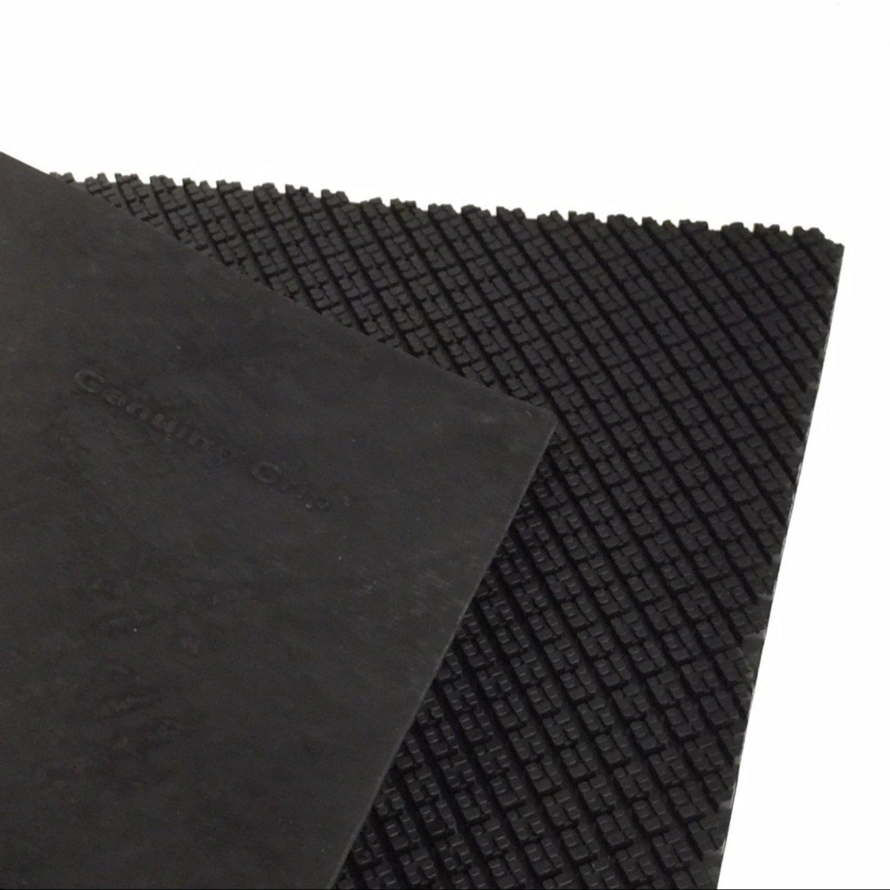 SoleTech Genuine Grip Soling Sheet, 4mm, Black Inc 87G