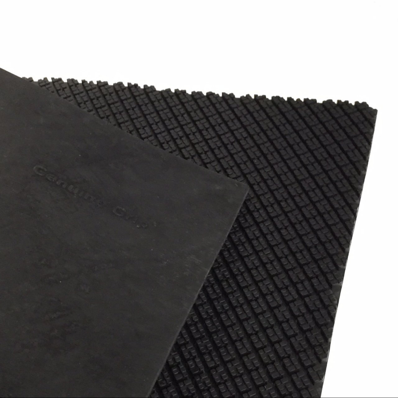 SoleTech Genuine Grip Soling Sheet, 4mm, Black
