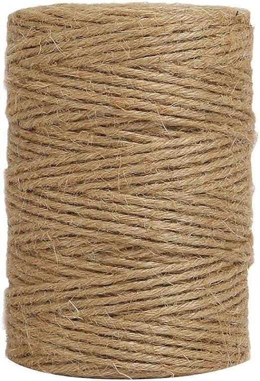 Cordel Cuerda de Yute, Cordón de Yute Natural para Manualidades ...